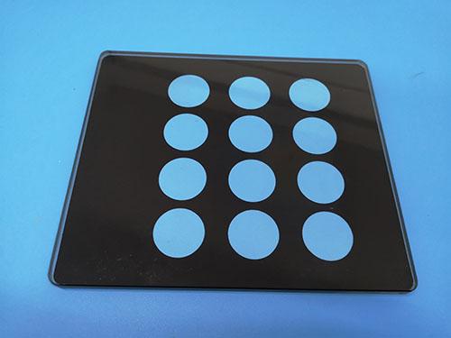 飲水機面板鋼化玻璃專業生產_智宏玻璃_高鵬硅_鍍膜_電子產品