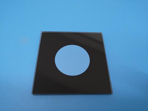 智能鏡面板鋼化玻璃哪里生產_智宏玻璃_單面蒙砂_耐高溫_布紋