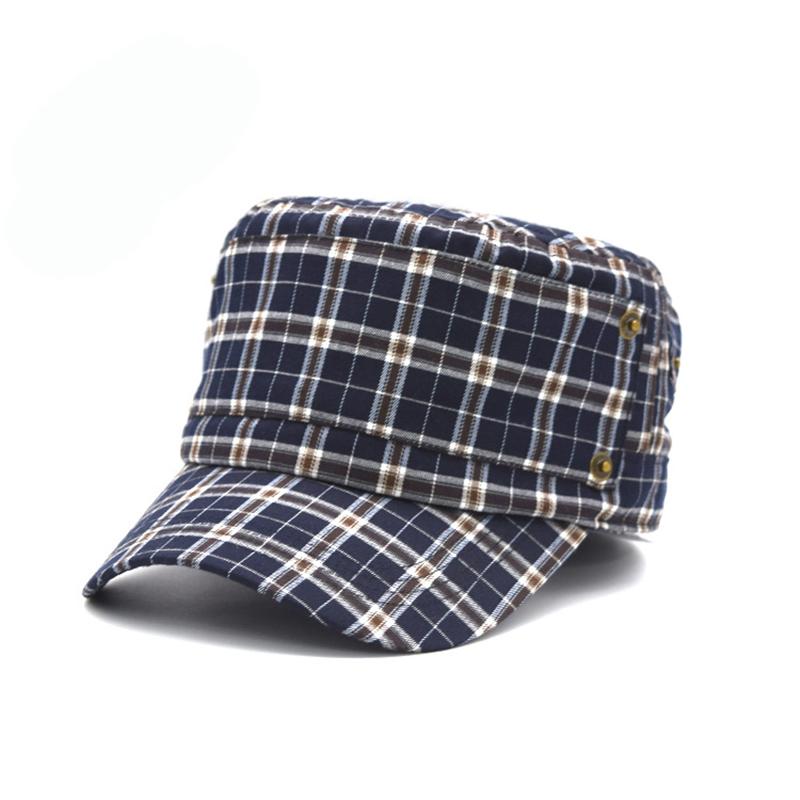 夏季_红黑色平顶帽高端私人定制_金森帽子