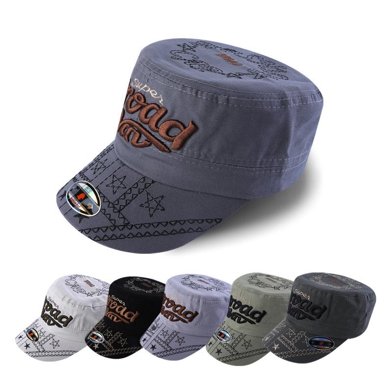 純色_武漢韓版平頂帽來圖加工_金森帽子