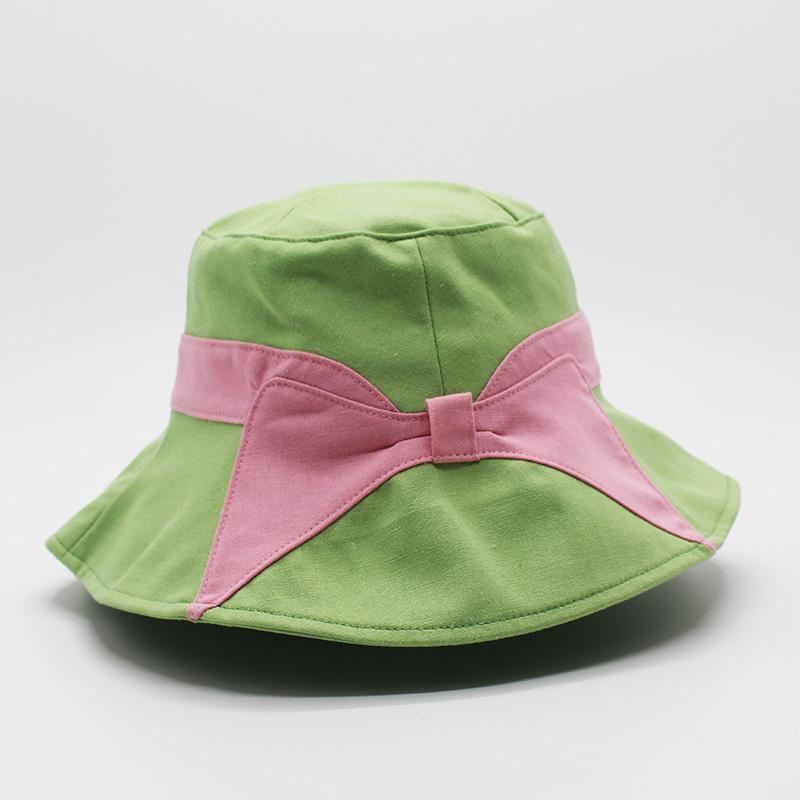 白色_服裝漁夫帽哪里便宜_金森帽子