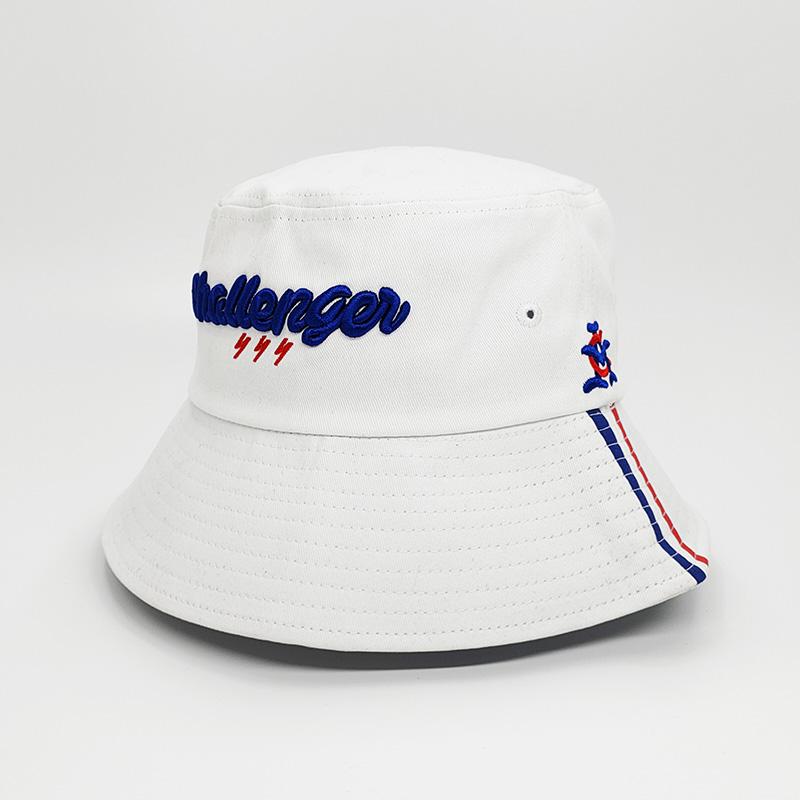 藍色_折疊漁夫帽訂做_金森帽子