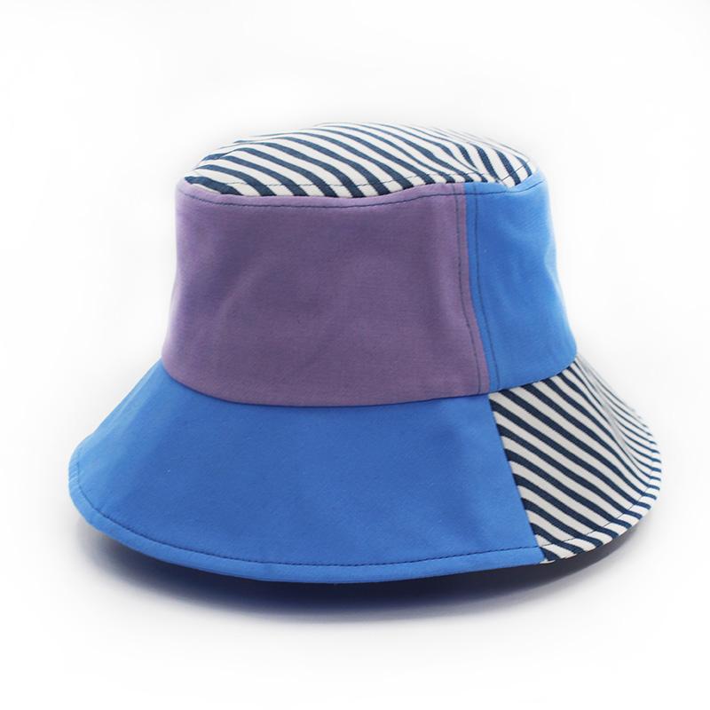 休閑漁夫帽值得選購_金森帽子_粉色_夏季_純色_折疊_防紫外線