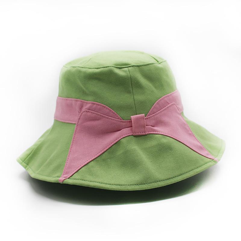 兒童漁夫帽制造商_金森帽子_粉色_日式_百搭_優質_旅游_折疊