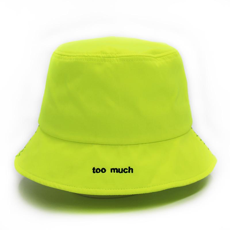 藍色_女士漁夫帽來料定制_金森帽子