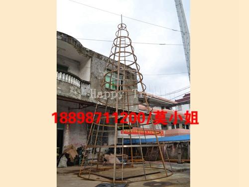 10米方管样品树