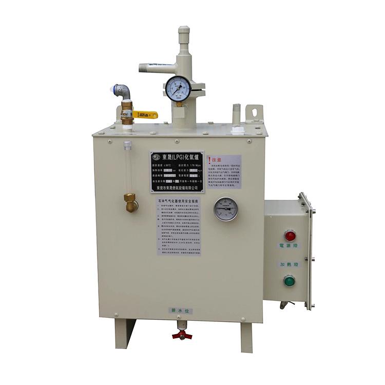 电热式气化器订做_东晟燃气_低温液体_进口_20KG带灯_小型