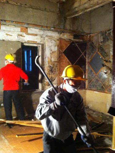 酒店改造拆除