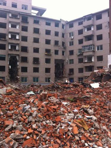 樓房拆遷工程