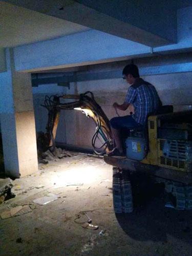 酒店改造拆除工程