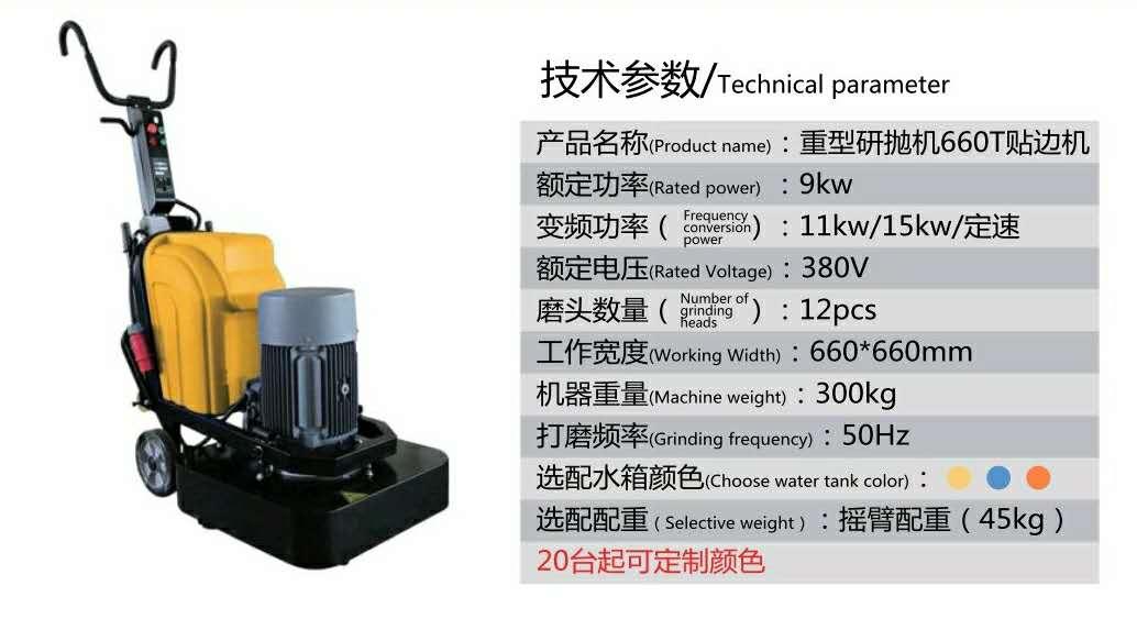 重型研拋機660T貼邊機