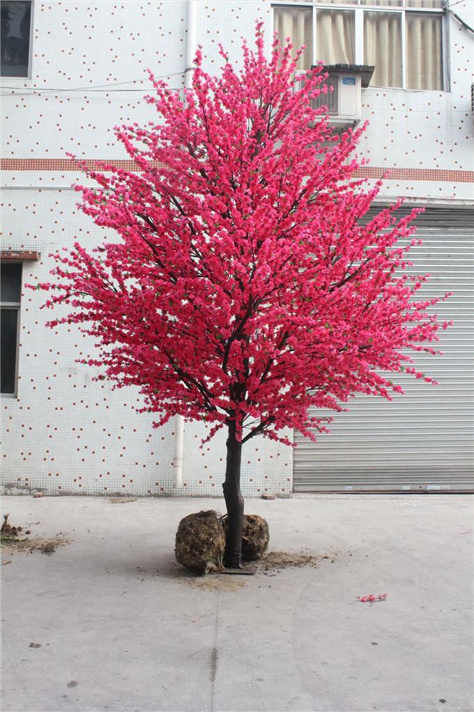 仿真桃花树 广州风景线仿真植物有限公司_企讯网
