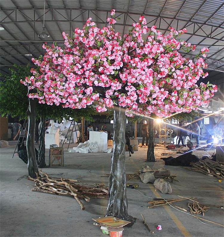 仿真植物仿真树双色仿真樱花树