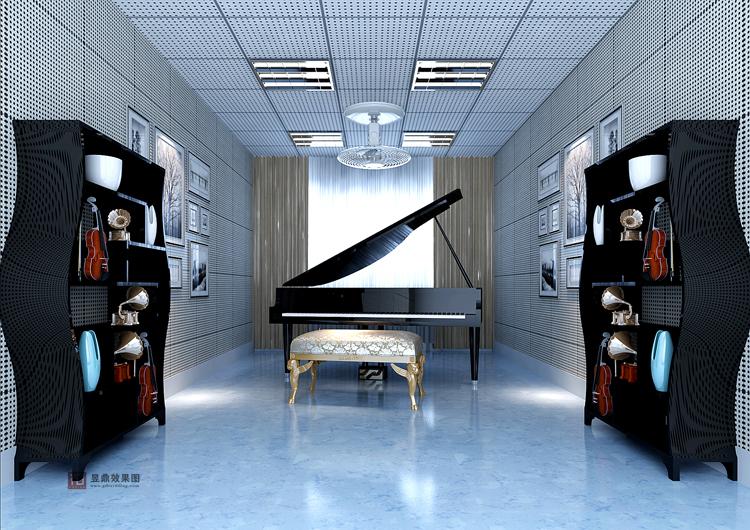 钢琴室效果图