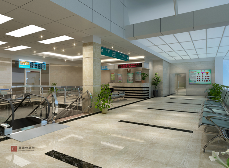 医院效果图展示