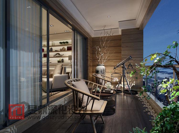 后现代风格阳台