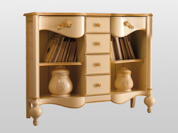 地中海风格书柜定做
