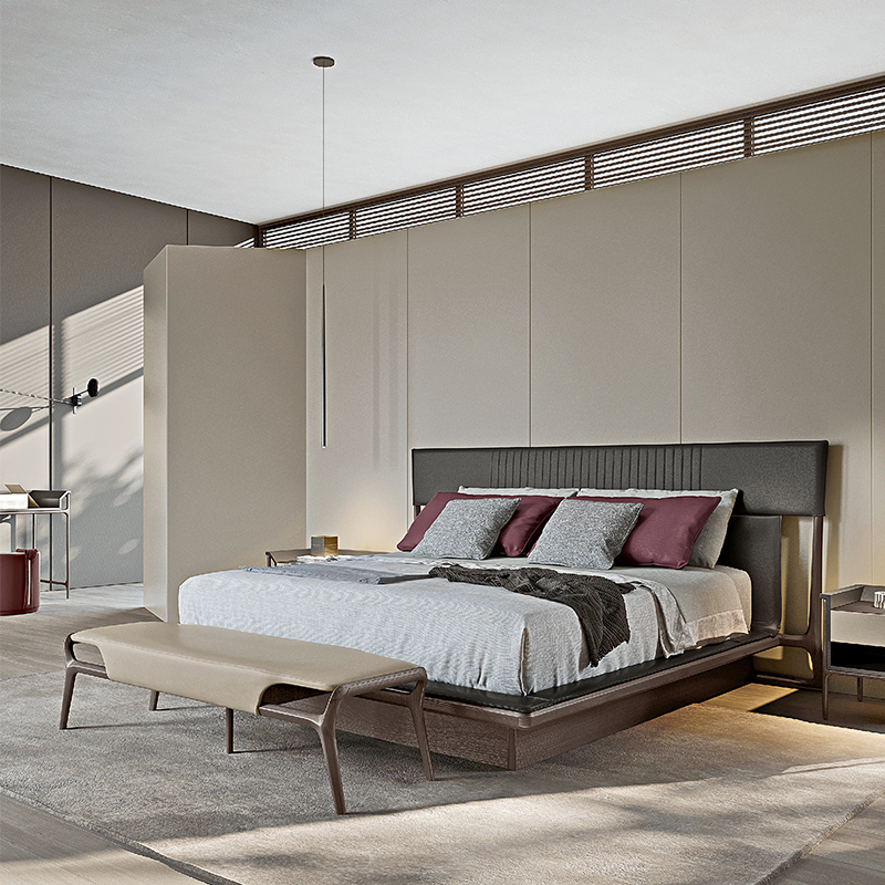 床和床頭柜床尾凳