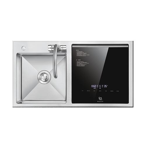 智能洗碗机—双槽标配