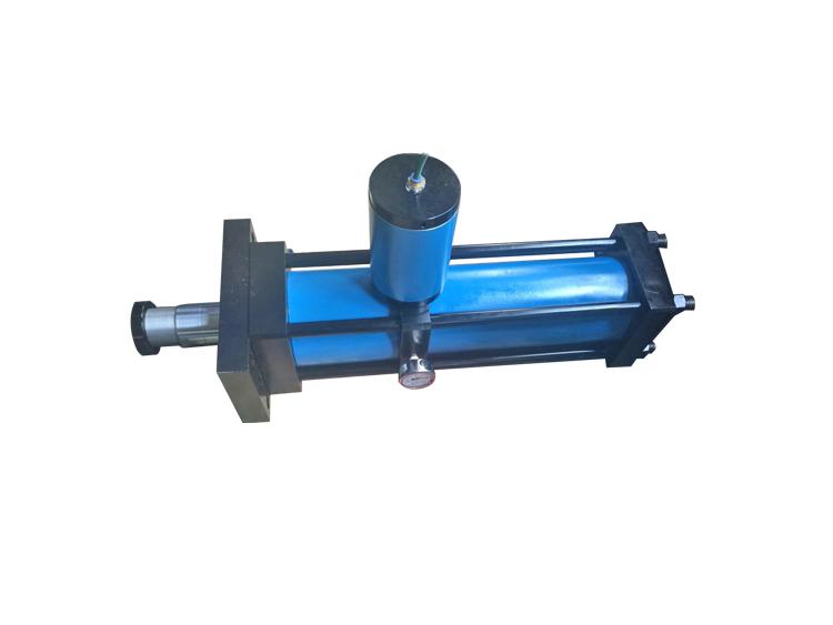 直压式安装气液增压缸