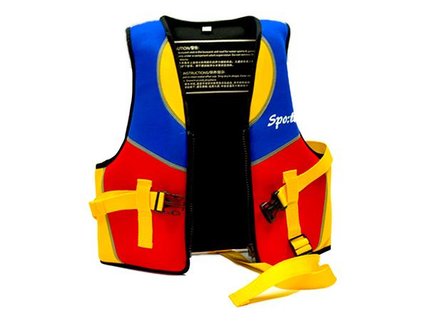 卡扣浮潛船用漂流浮力救生衣