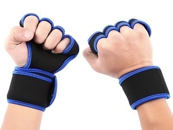 潛水料加壓護手護腕運動訓練舉重護手掌