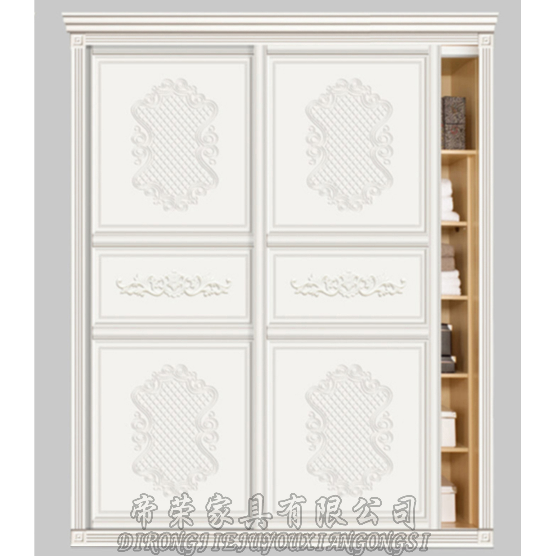 雕刻吸塑衣柜门 dr-b2016勒鲁瓦