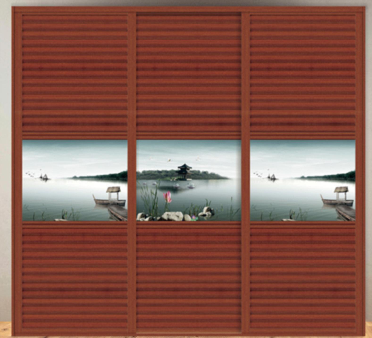 小百叶衣柜门 dr-g8004