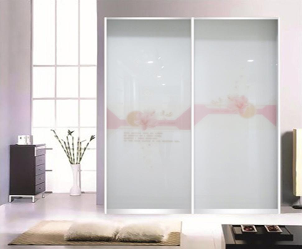新款玻璃衣柜门花样年华