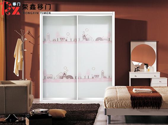 新款玻璃衣柜门幸福小镇