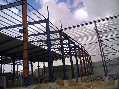 东莞钢结构厂房制作