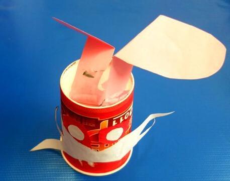 纸杯制作小动物兔子
