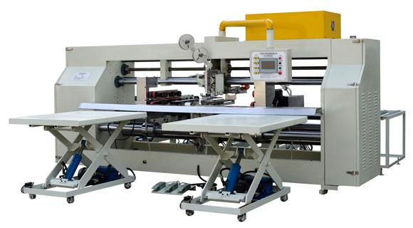2.7米   双片式半自动钉箱机 ,纸箱钉箱机