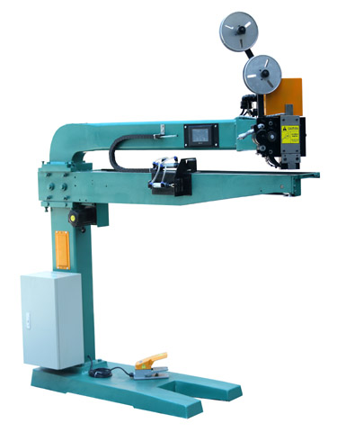 TY-SF1500 双伺服自动推纸钉箱机,伺服高速钉箱机