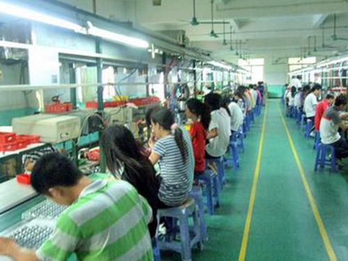 劳务派遣的生产车间