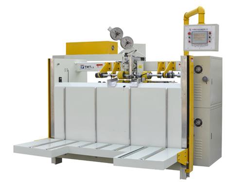 单片式双伺服自动纸箱钉箱机 纸箱装订机