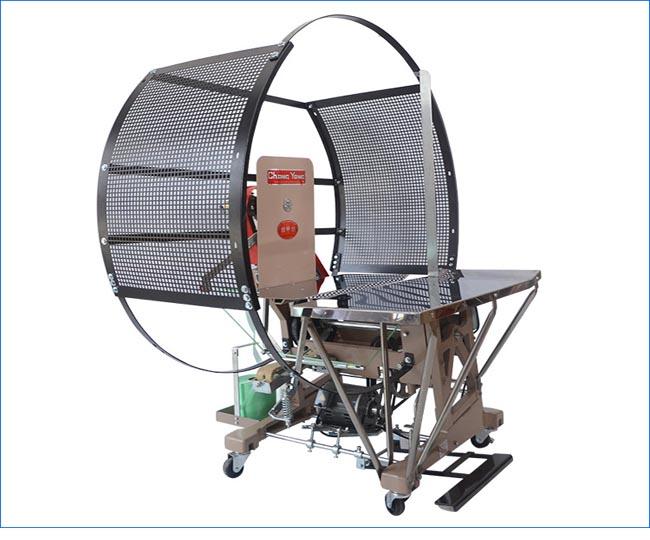 CY-80  台湾原装布草毛巾床单被套捆扎机械