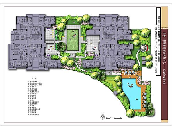 世博领寓景观规划设计-广东佛岭景观工程有限公司|企图片