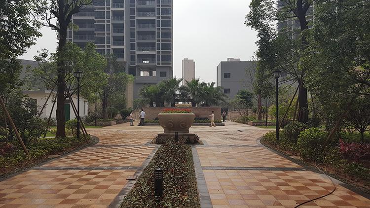 厂区_人造绿化工程施工公司_佛岭景观