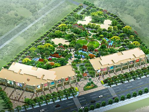 东莞市金海湾花园景观设计方案