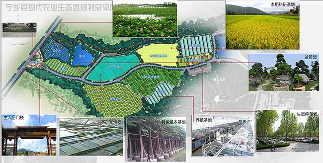 长沙-宁乡现代农业生态园规划设计