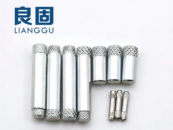 單花軸 雙花軸芯 滾花柱 定位鎖緊滾花銷釘