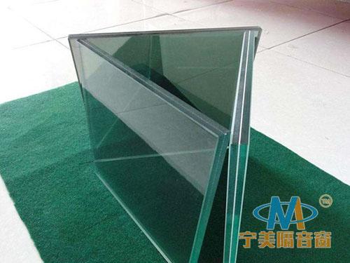 雙層夾膠隔音玻璃