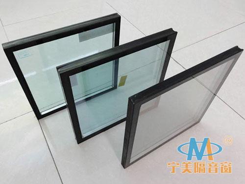 双层中空隔音玻璃
