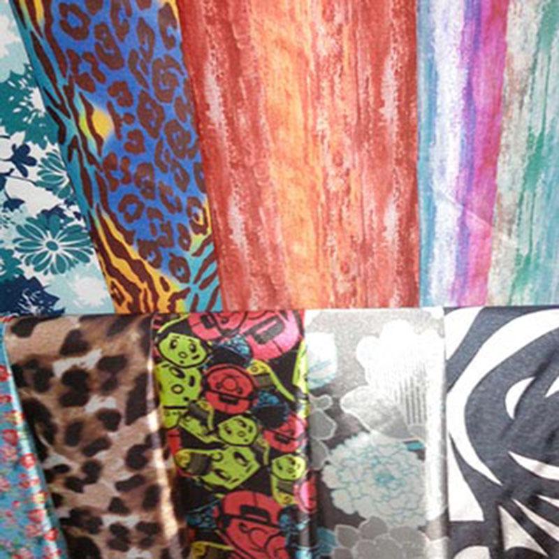 专业数码印花厂家生产加工_新彩喷绘_可爱_3D_DIY_平纹布