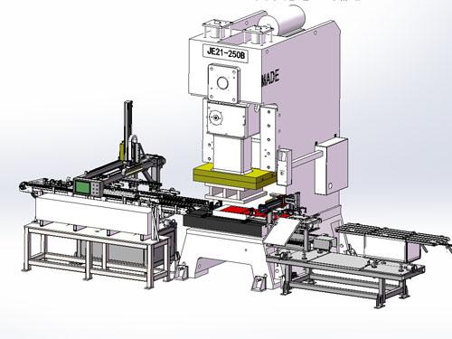 短尺材自动化设备