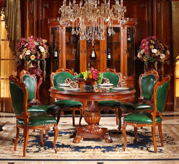 歐式大圓桌