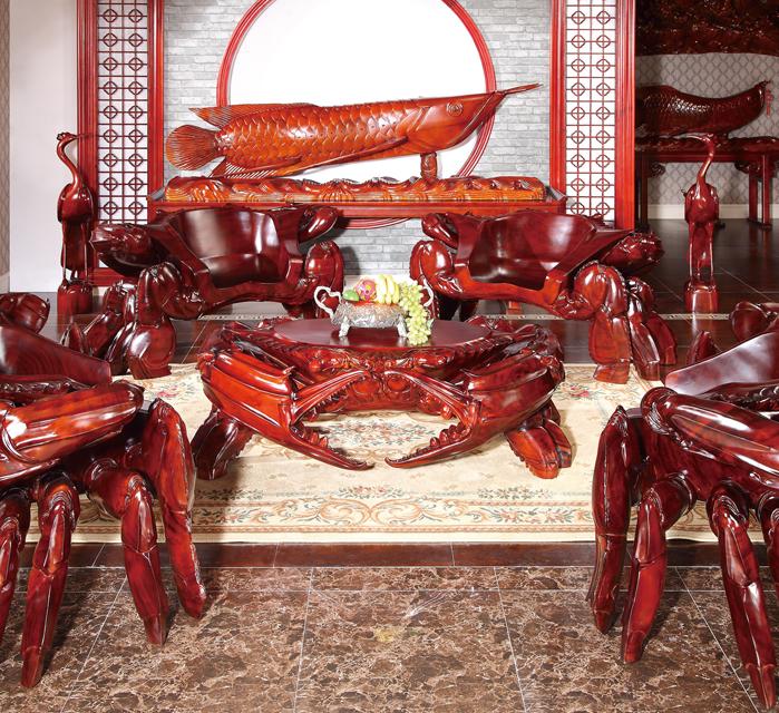 海霸螃蟹王座椅組合