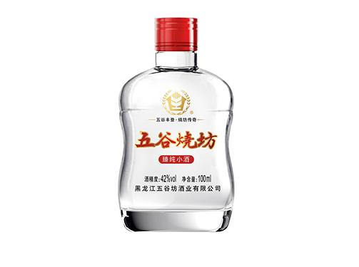 500ml白酒_五谷坊酒业_家庭聚会_窖藏_礼品_纯米酿造_光瓶