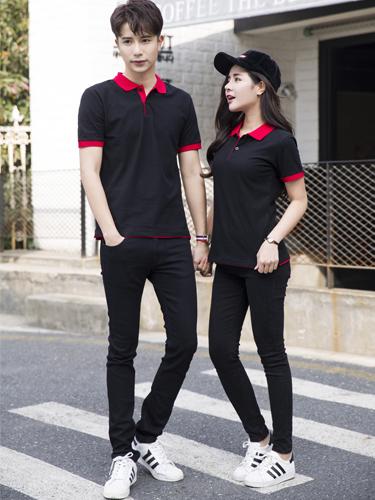 男女同款商務T恤